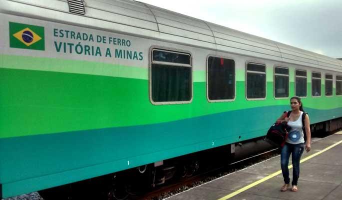 Como é viajar no trem Vitória Minas