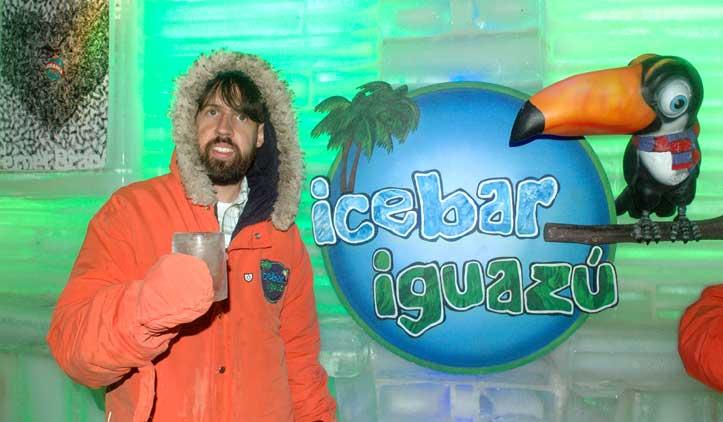 Ice Bar, o Bar de Gelo de Puerto Iguazú