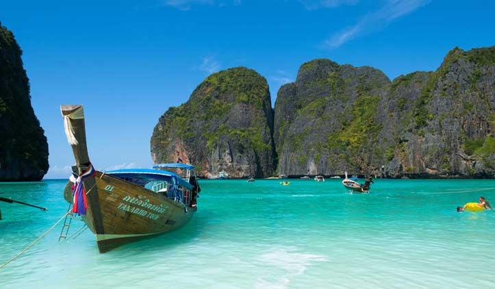 Maya Bay, a praia mais encantadora da Tailândia