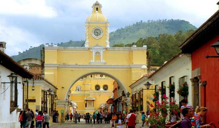 Antigua, a Ouro Preto da Guatemala