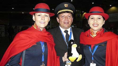 Aeromoças da Avianca - Foto: