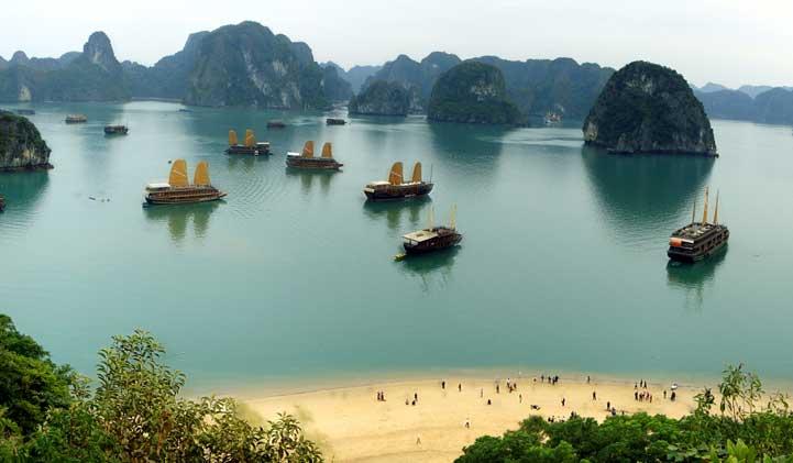 Como escolher o cruzeiro em Halong Bay?