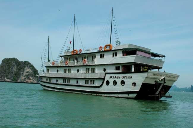 Barco em que fiz o cruzeiro, Opera Aclass – nível médio