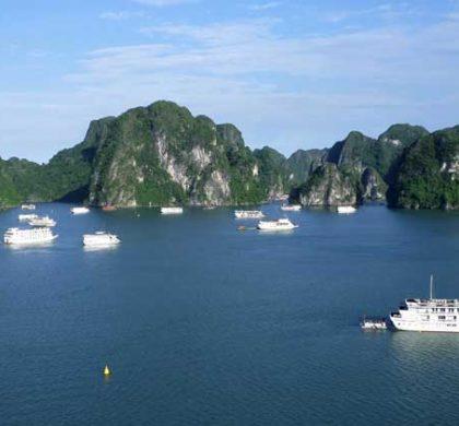 Halong Bay, a incrível baía do Vietnã