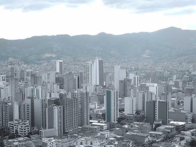 vista da cidade de medellin