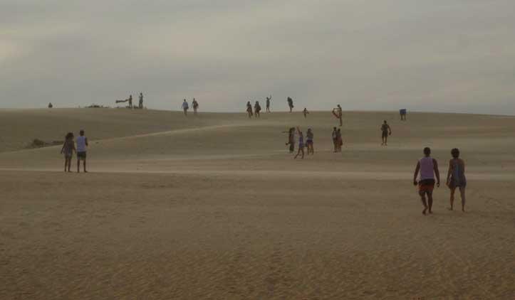 Itaúnas, cidade das dunas e do forró