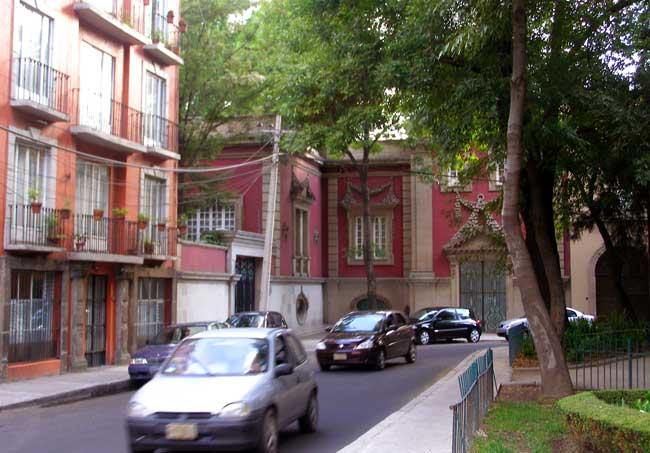 bairro de Condesa na Cidade do México