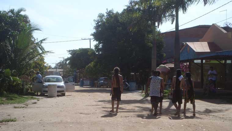 Rua da Vila de Itaúnas