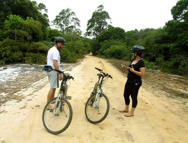 Foto do Grupo de Condutores Ambientais de Itaúnas