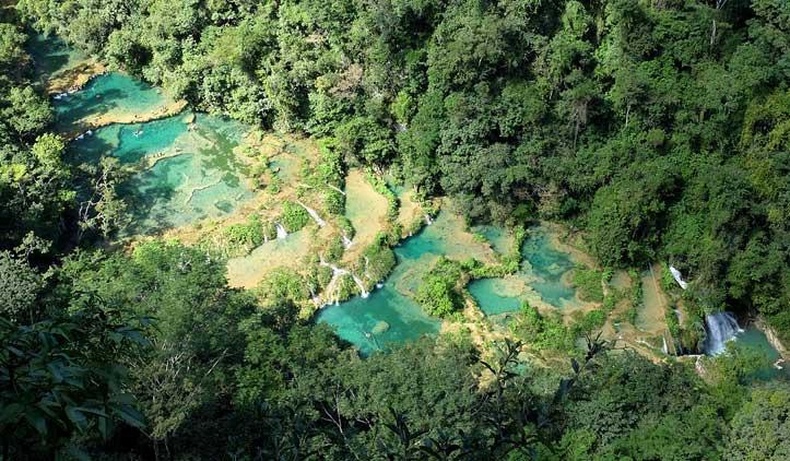 Semuc Champey, as maravilhosas piscinas naturais da Guatemala