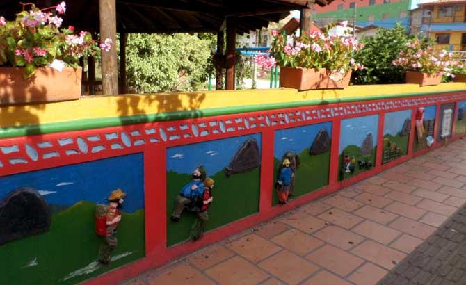 Zócalos coloridos de Guatapé