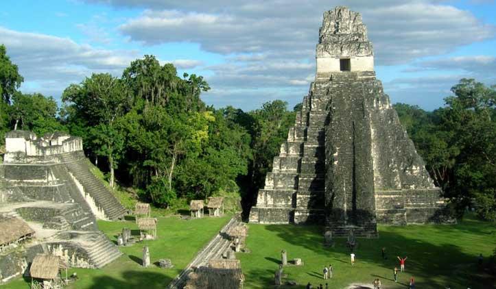 Tikal, as grandes pirâmides maias da Guatemala