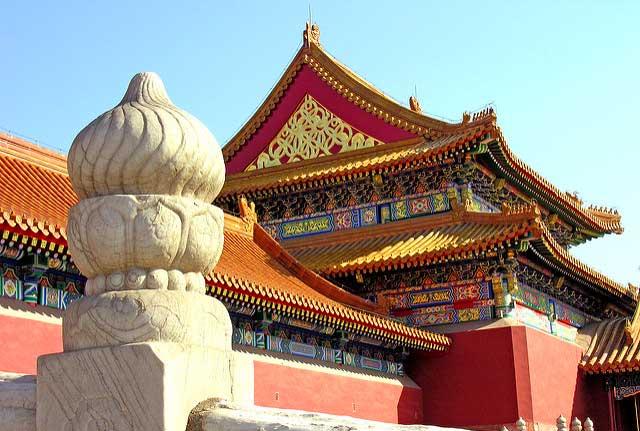 Palácio Imperial Cidade proibida em Pequim