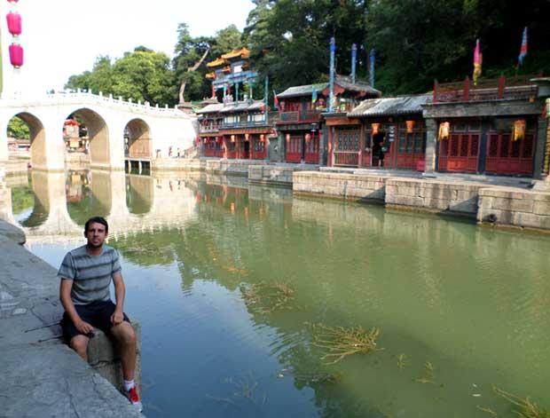 vila do Palacio de verão beijing
