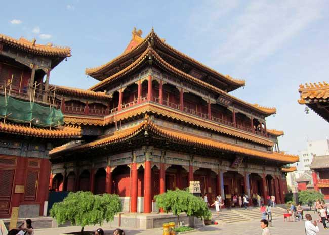Templo Lama Yonghe de Pequim