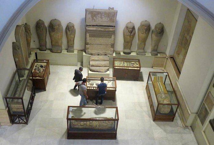 museu egípcio de cairo sarcófagos