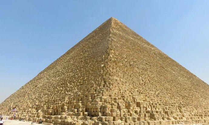 Pirâmide de Queóps Gizé Egito