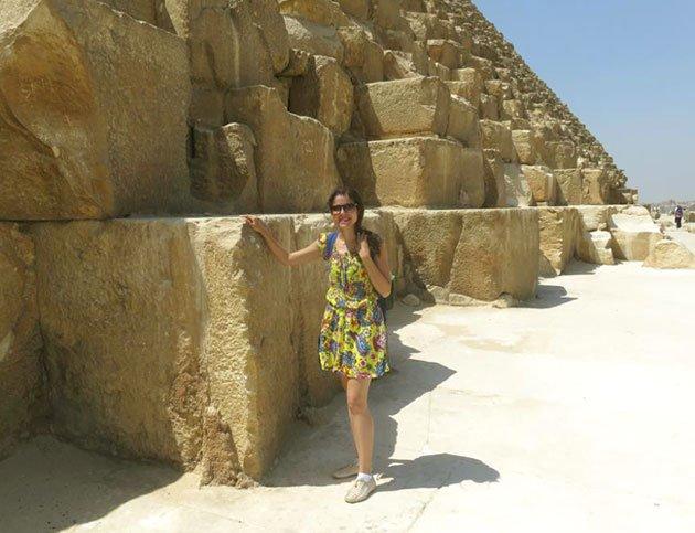 grandes blocos de pedra das piramides