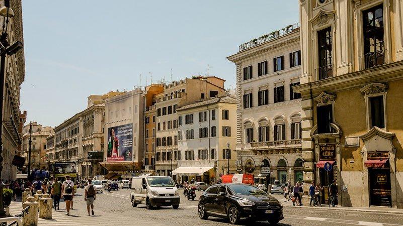 melhor localização no centro historico roma