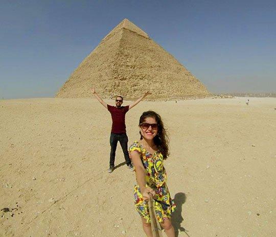 Pirâmide de Quéfren Gizé Egito