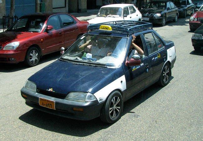 taxi padrão de cairo egito