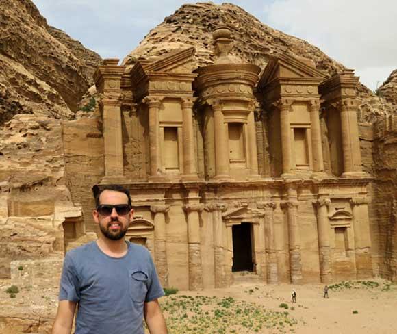 templo em petra jordania
