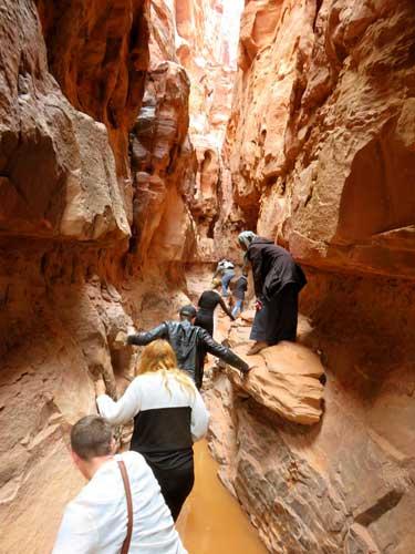 canyon wadi rum jordan