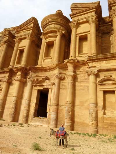 atrações de Petra na jordania