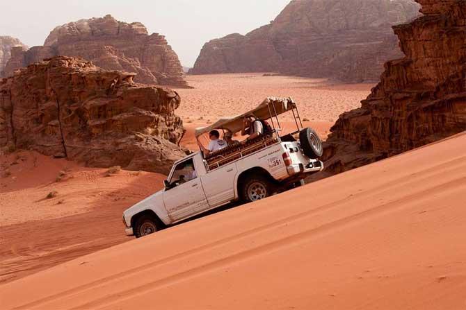 tour de jeep no wadi rum