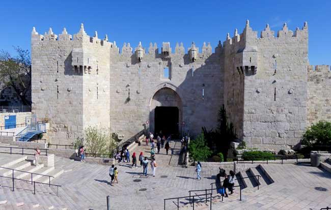 portão de damasco jerusalem