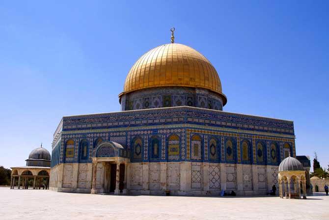 cúpula da rocha dourada jerusalém
