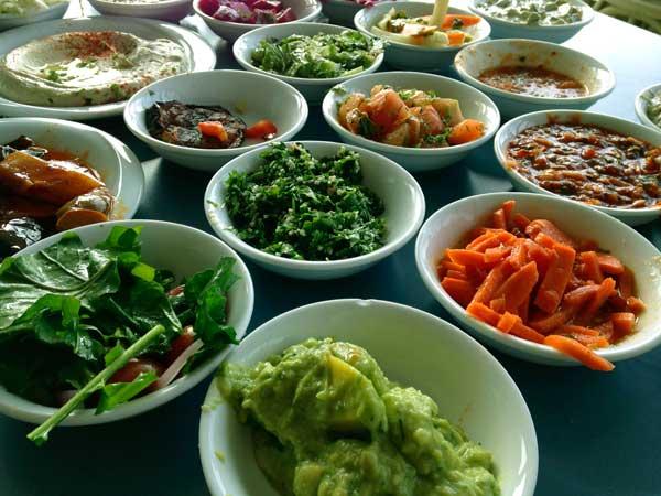 comidas típicas israel valor