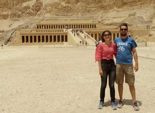 Templo da Rainha Hatshepsut luxor