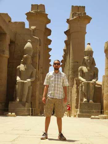 estátuas de ramses Templo de Luxor