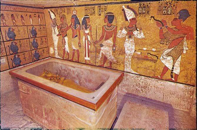 Tumba faraó Tutancâmon