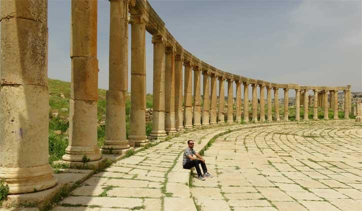 Jerash, a incrível cidade romana da Jordânia