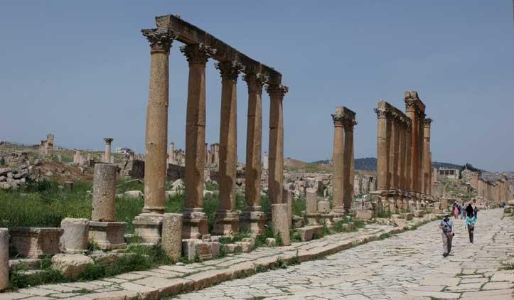 Onde ficar em Jerash, na Jordânia
