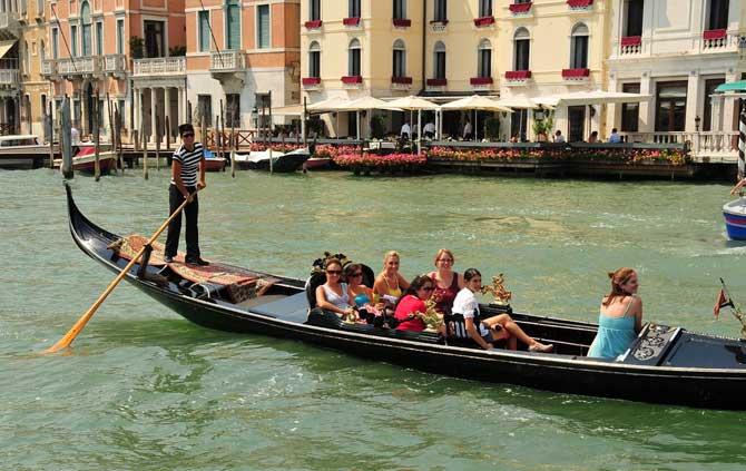capacidade gondola veneza