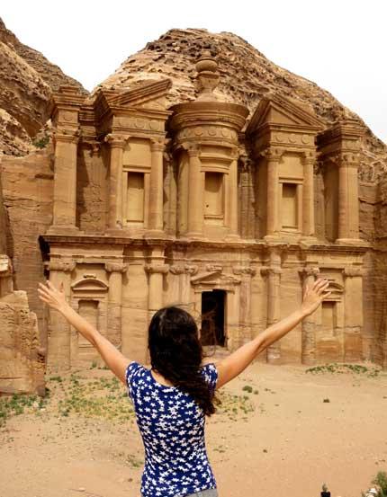 monastério petra jordania