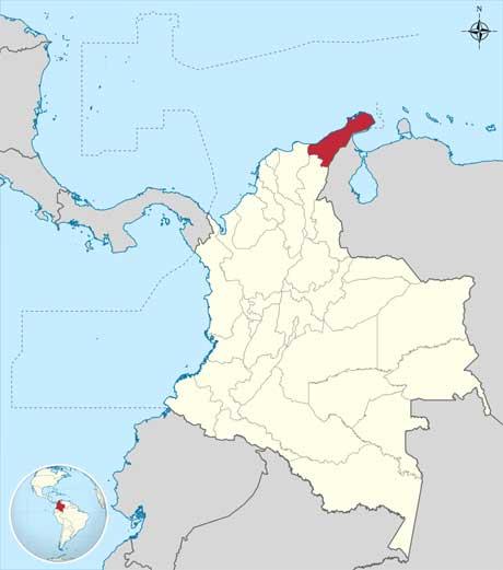 mapa la guarija