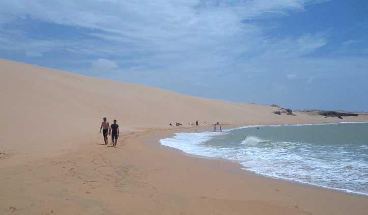 praia dunas de taroa