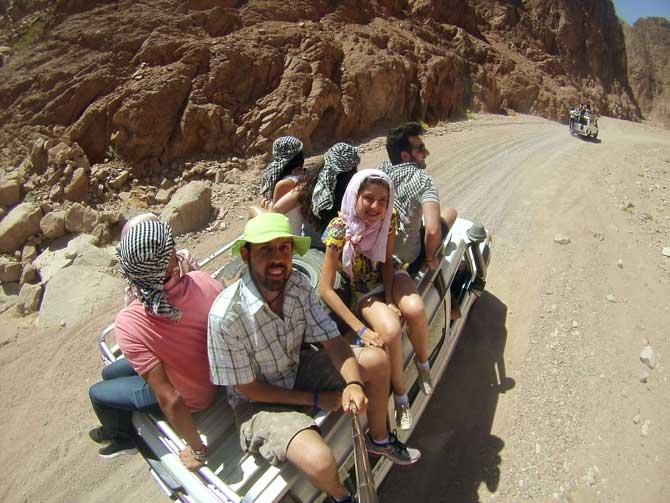 jeep tour colored canyon egito
