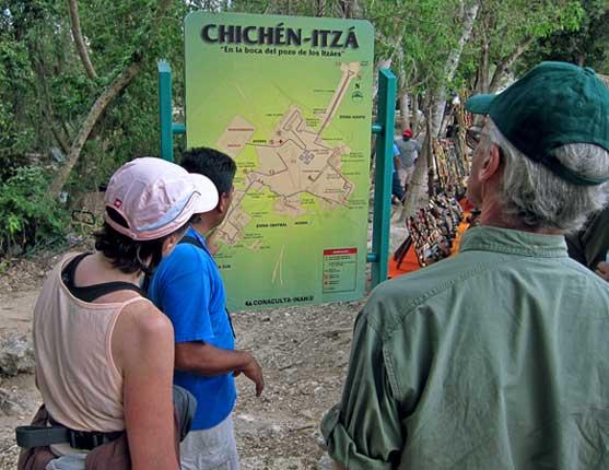tour excursão chichen itza guia