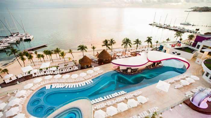 hotel resort area lazer