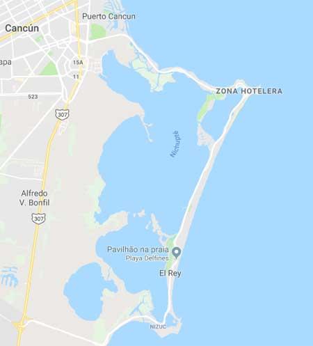 isla cancun zona hoteleira