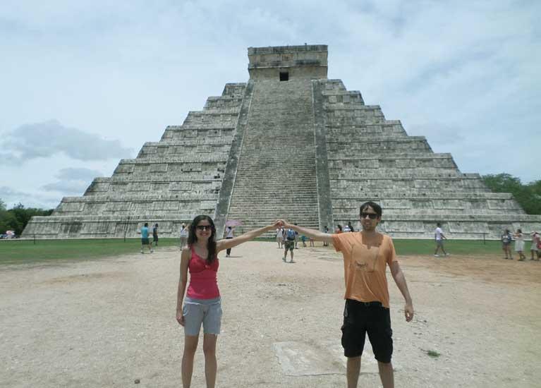 locais turisticos cancun maia