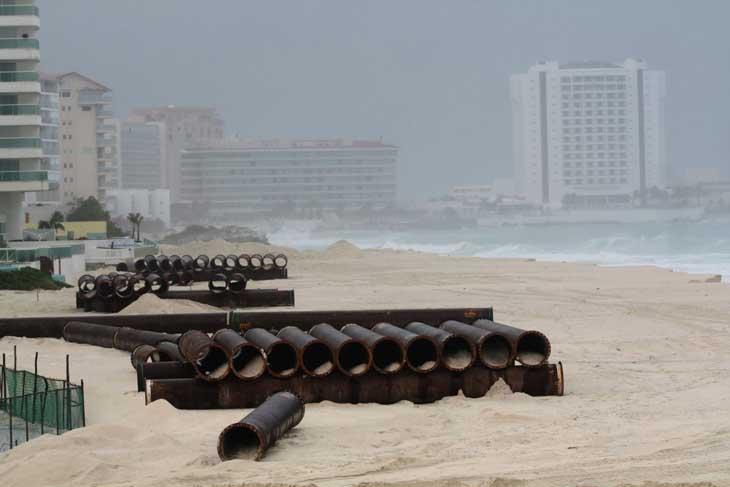 temporada de furacões cancun