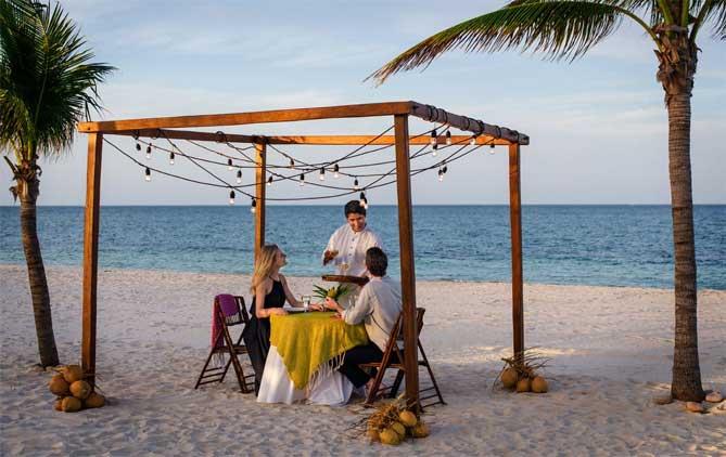 hoteis para lua de mel cancun romantico