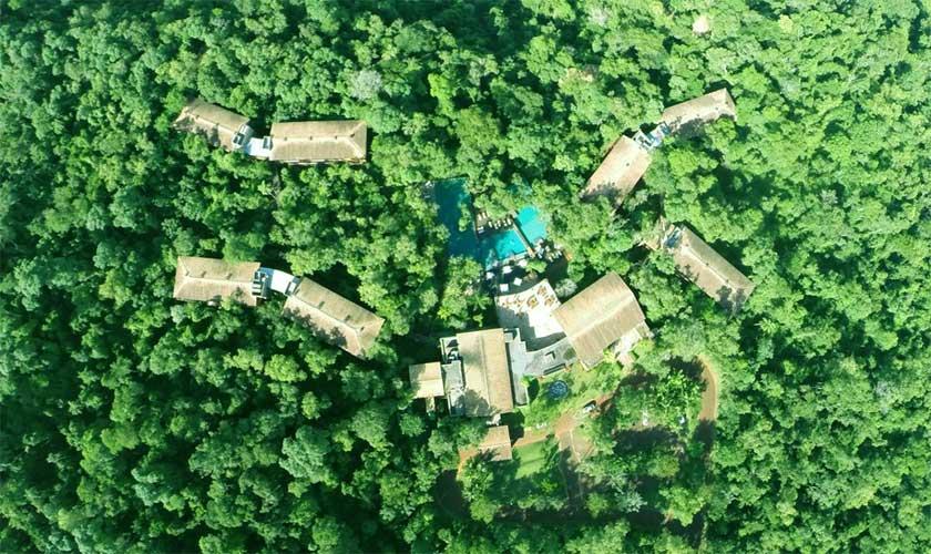 hotel resort na flroesta Puerto Iguazú