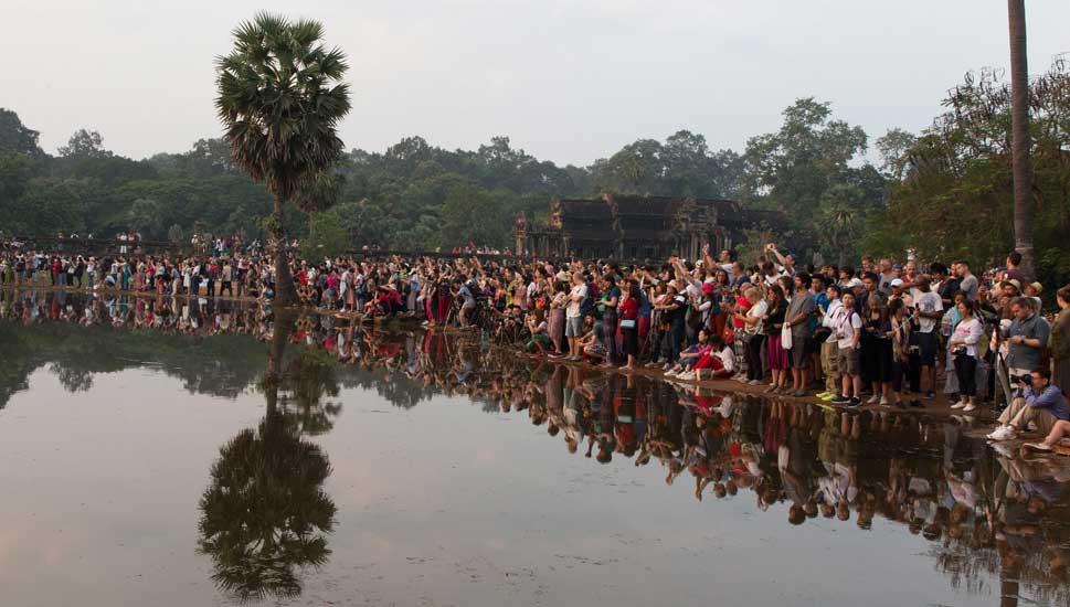 fotografar por do sol angkor